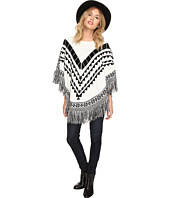 kensie - Plush Knit Sweater Poncho KSDK500S