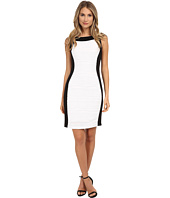 Calvin Klein - Sheath Dress w/ Novelty Insert