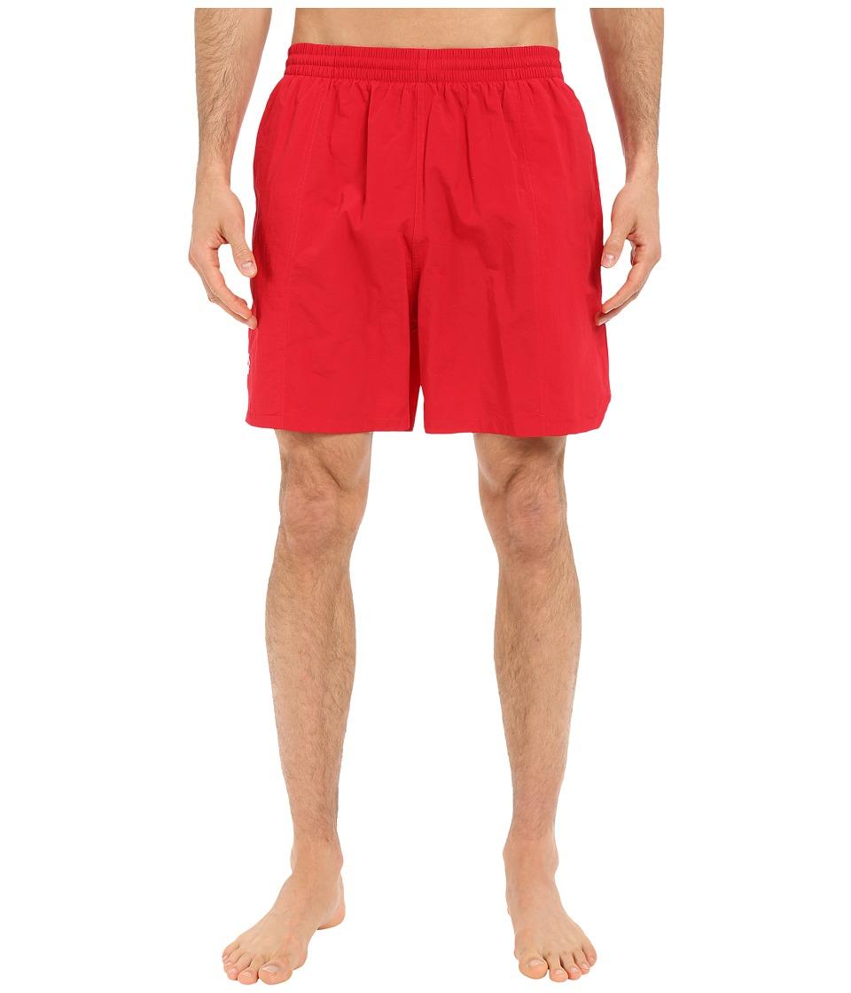 Tyr Classic Deck Swim Shorts (Red) Men's Swimwear