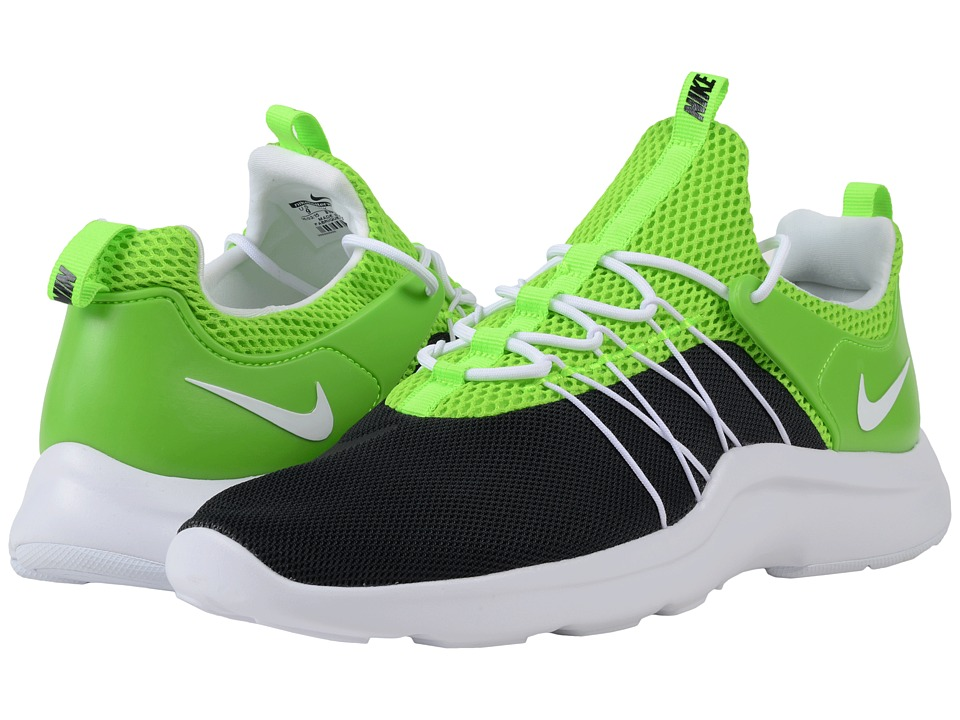 Nike Darwin Black/White/Electric Green Mens Running Shoes