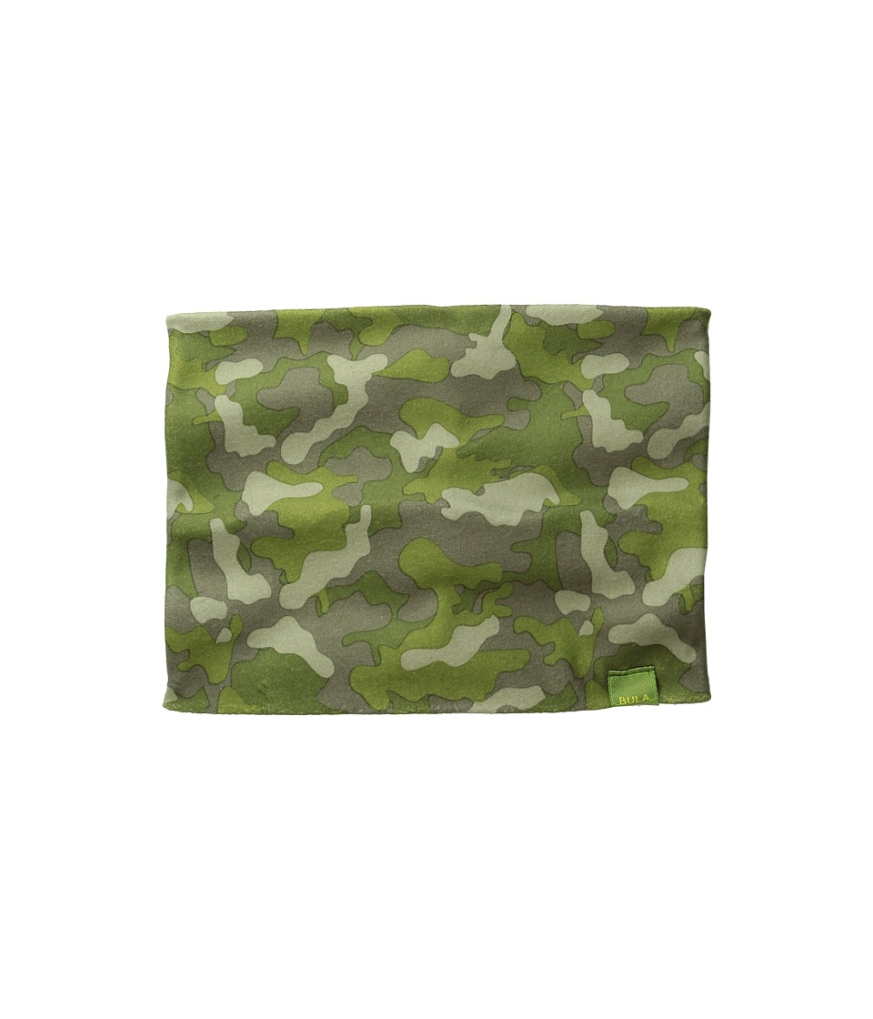 BULA Kids Prodigy Printed Neck Gator Big Kid Camo Green Scarves