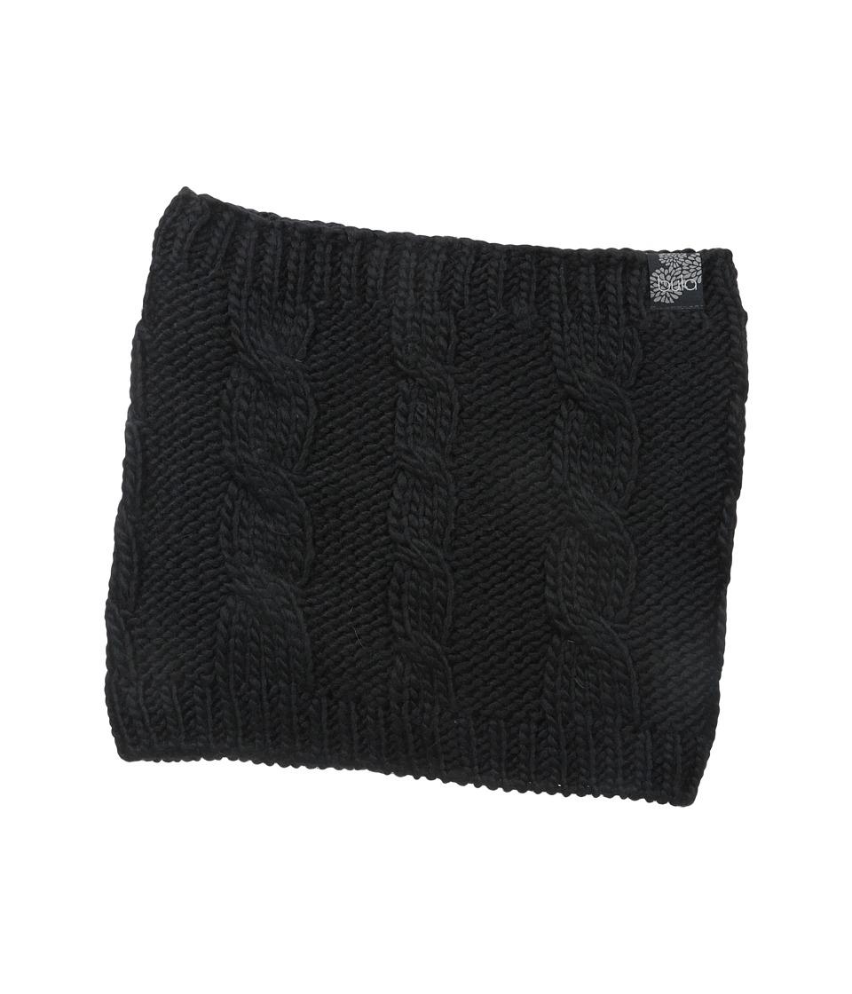 BULA Aran Neck Gator Black Scarves