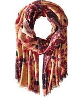 Bindya - Stole Leo Floral Cashmere/Silk Wrap