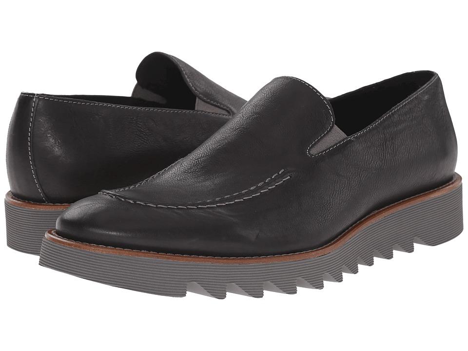 Donald J Pliner Sant Black Mens Slip on Shoes