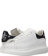Alexander McQueen - Star Perforated Platform Sneaker