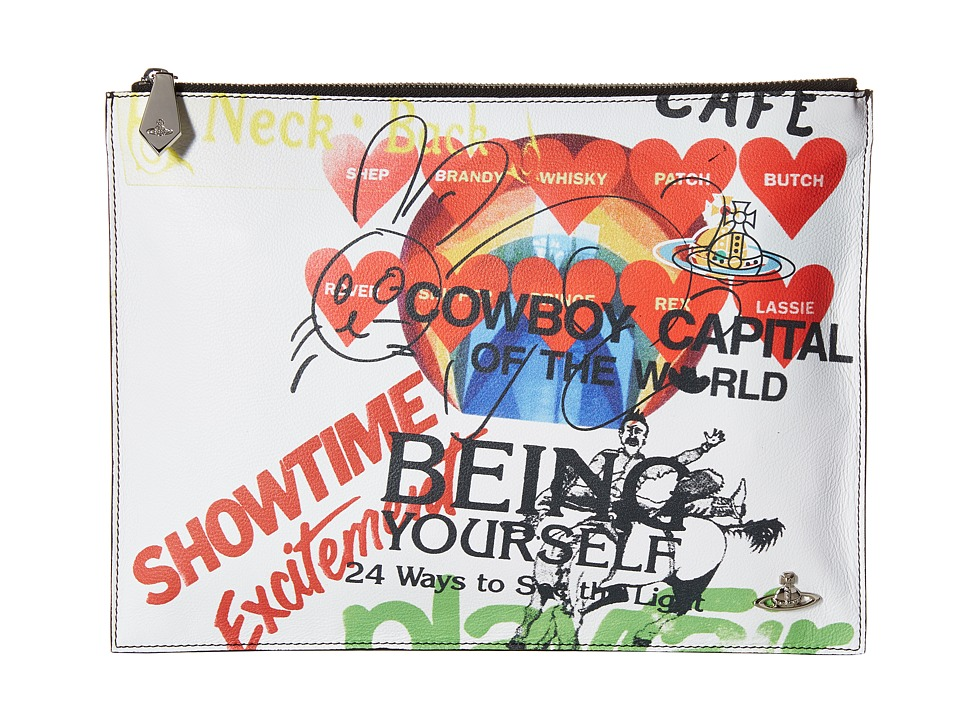 Vivienne Westwood - GL Being Pouch (Multicolor) Travel Pouch