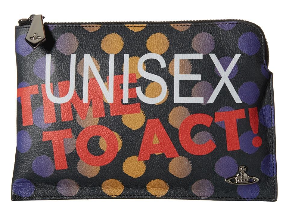 Vivienne Westwood - Unisex Pouch (Multicolor) Travel Pouch