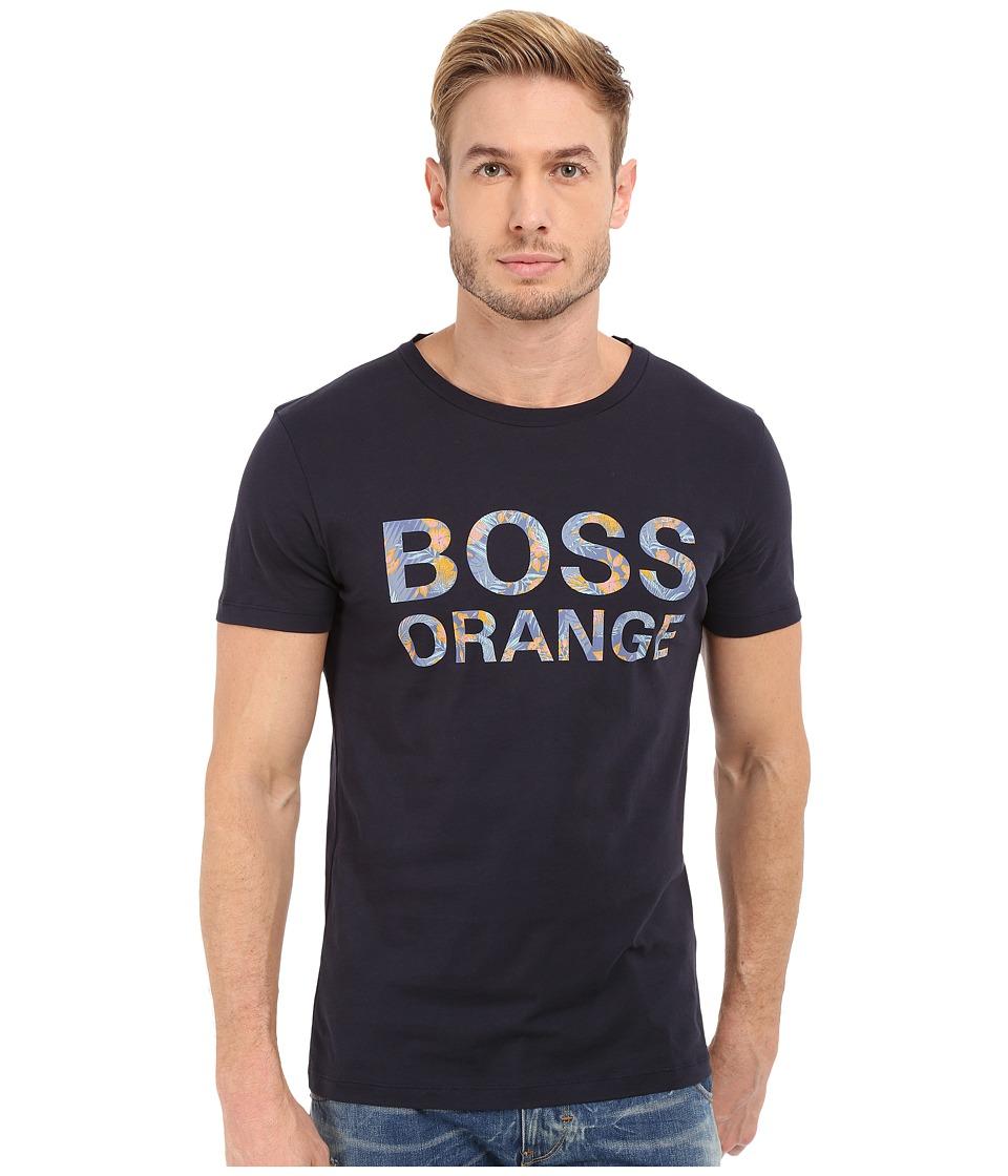 BOSS Orange Tomsin 1 T Shirt 10131643 01 Dark Blue Mens T Shirt