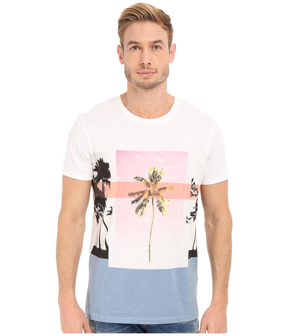 BOSS Orange Towney 4 T Shirt 10139980 01 White Mens T Shirt