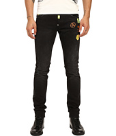 Philipp Plein - Fierce Straight Cut Denim in Black Friday