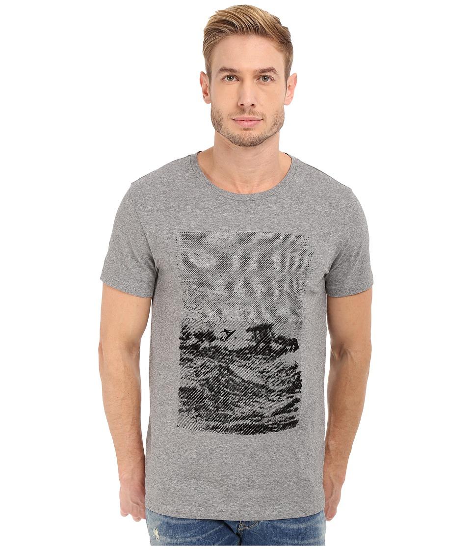 BOSS Orange Tartary T Shirt 10189448 01 Light Pastel Grey Mens T Shirt