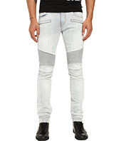 Philipp Plein - Cutout Motor Biker Denim in San Francisco Bay
