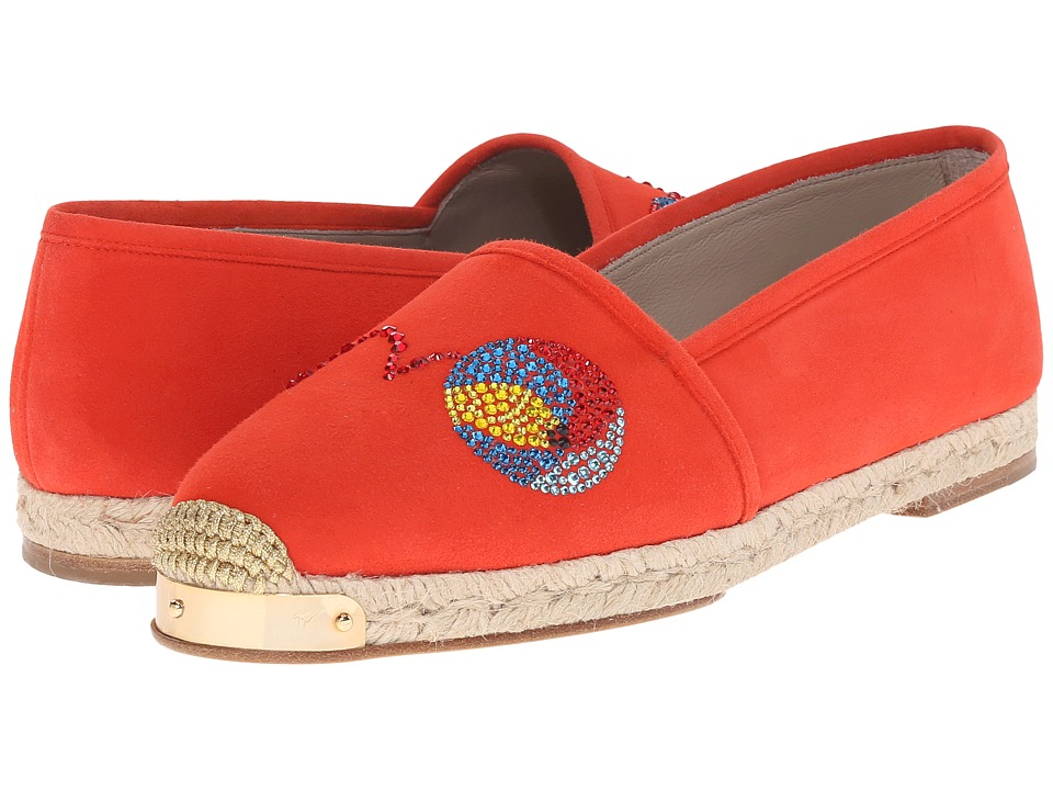 Giuseppe Zanotti E66069 Red Womens Shoes