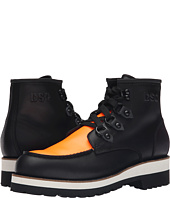 DSQUARED2 - Construction Calf Leather Ankle Boot