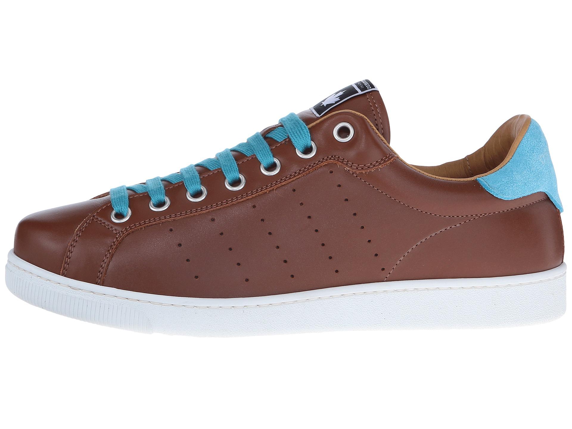 dsquared2 santa tennis shoe cuoio zappos free