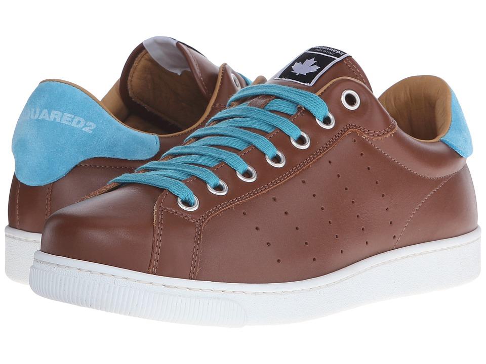 DSQUARED2 - Santa Monica Tennis Shoe (Cuoio) Men