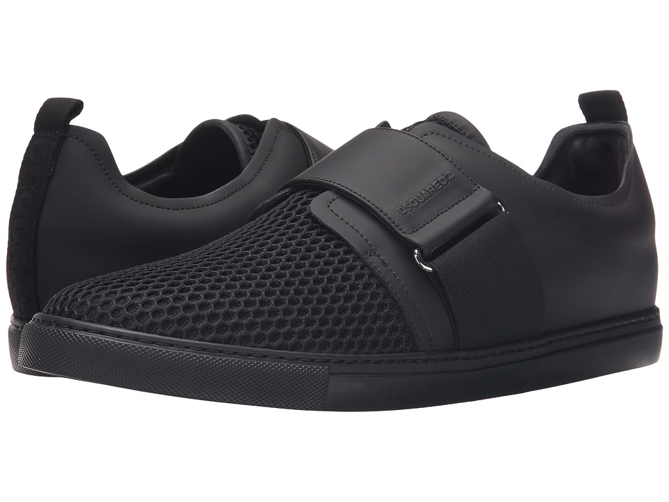 DSQUARED2 Beehive Tech Sneaker Black Mens Shoes