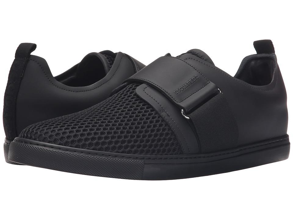 DSQUARED2 Beehive Tech Sneaker Black Mens Shoes