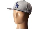 New Era Heather Act Snap Los Angeles Dodgers (Medium Gray)