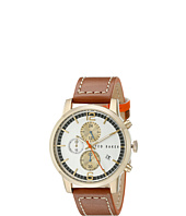 Ted Baker - Vintage Collection Custom Chronograph Date Leather Strap Watch