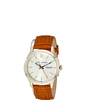 Ted Baker - Dress Sport Collection Custom Leather Strap Day/Date Watch