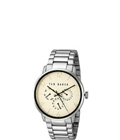 Ted Baker - Classic Collection Custom Multifunction Sub-Eye w/ Contrast Detail Date Link Bracelet Watch