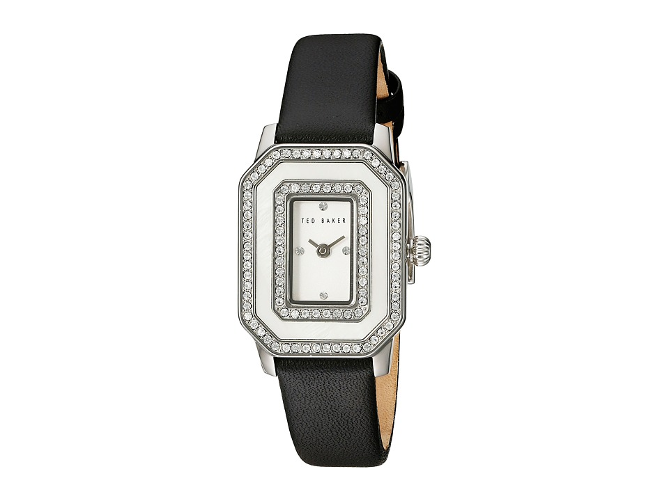 Ted Baker Bliss Collection Custom Leather Strap Watch Black Watches