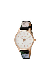Ted Baker - Classic Charm Collection Custom Leather Strap Watch
