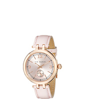 Ted Baker - Smart Casual Collection Custom Leather Strap Watch
