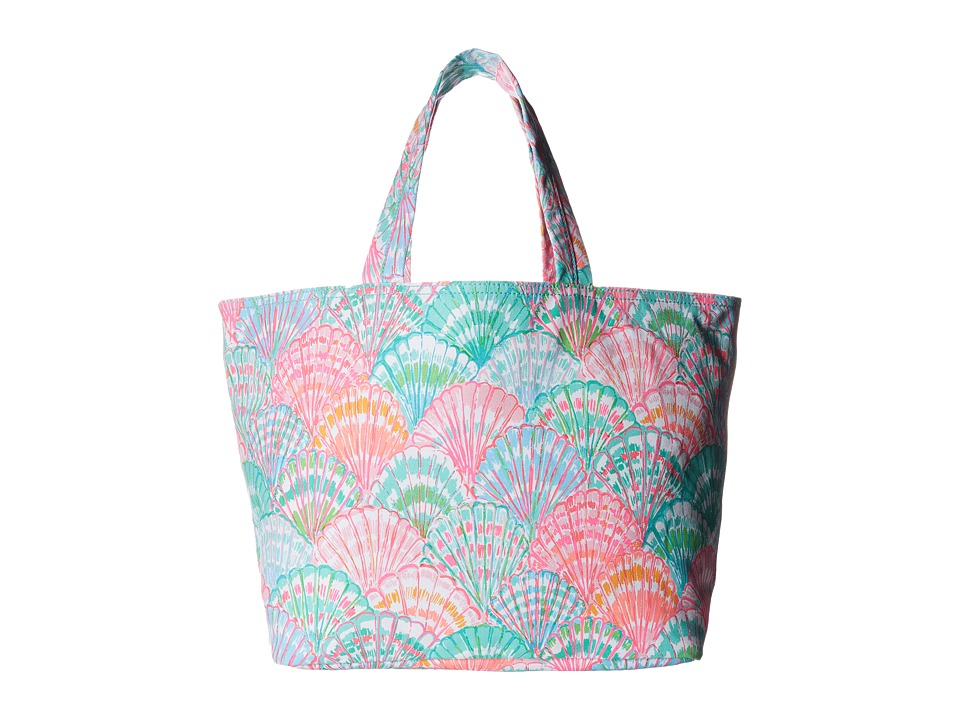 Lilly Pulitzer - Beach Tote (Multi Oh Shello Accessories) Tote Handbags