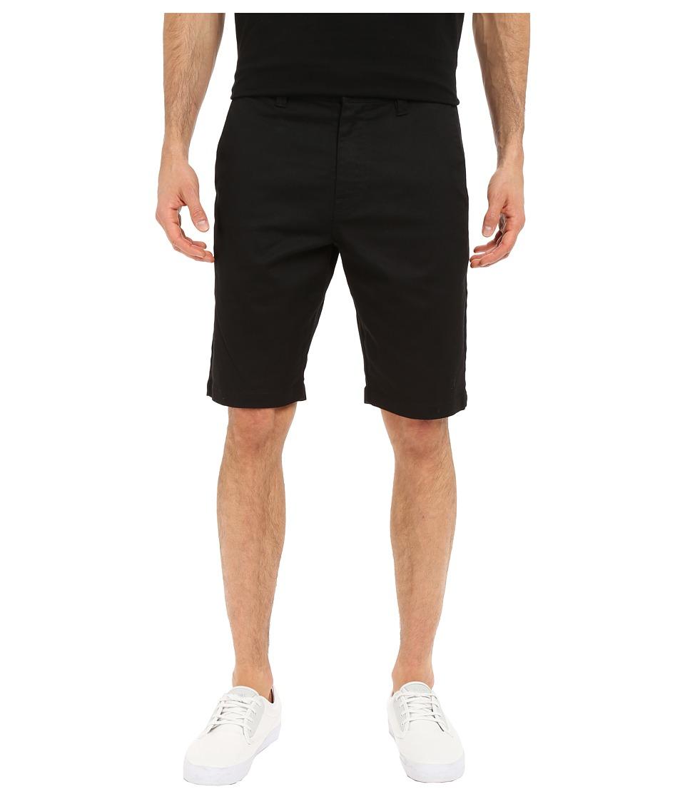 Volcom Frickin Modern Stretch Chino Shorts (Black) Men