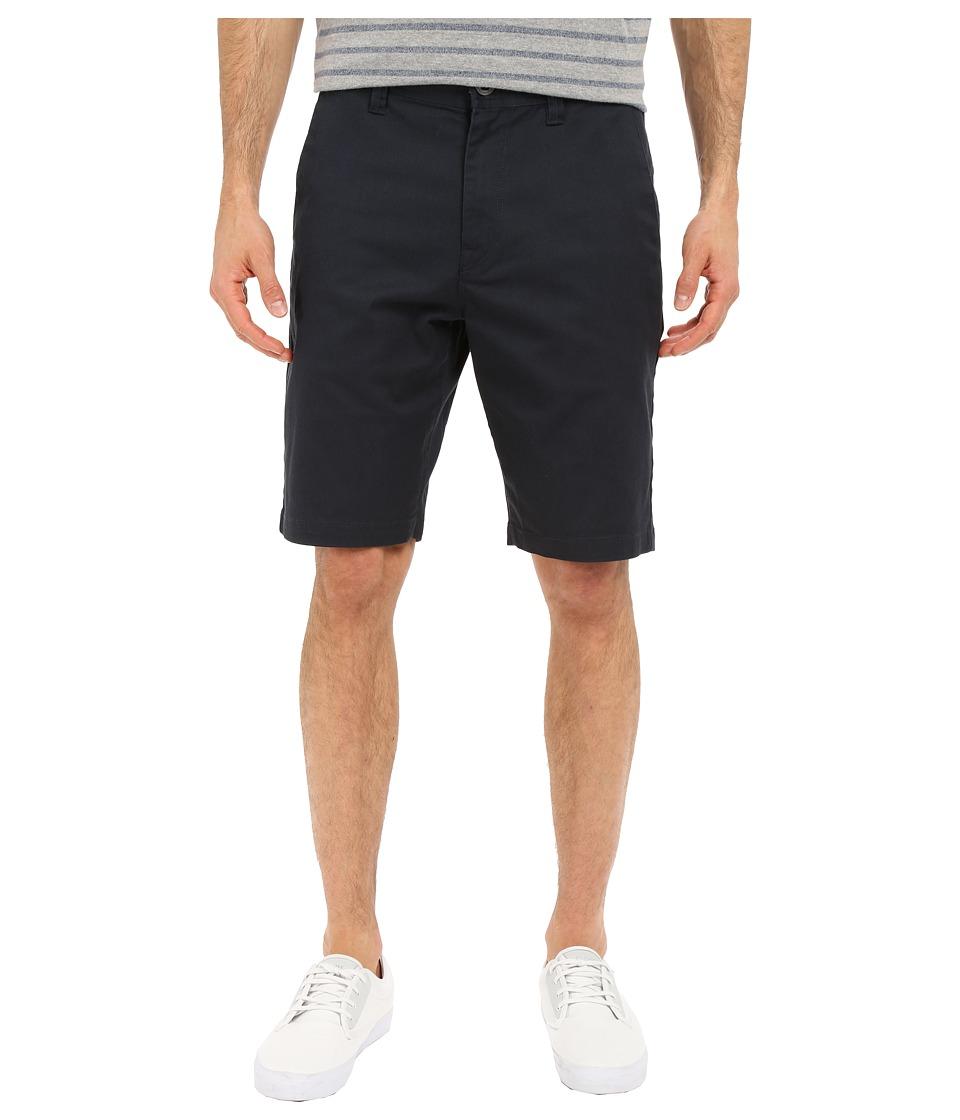 Volcom Frickin Modern Stretch Chino Shorts (Dark Navy) Men