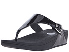 FitFlop - The Skinny Patent (All Black)
