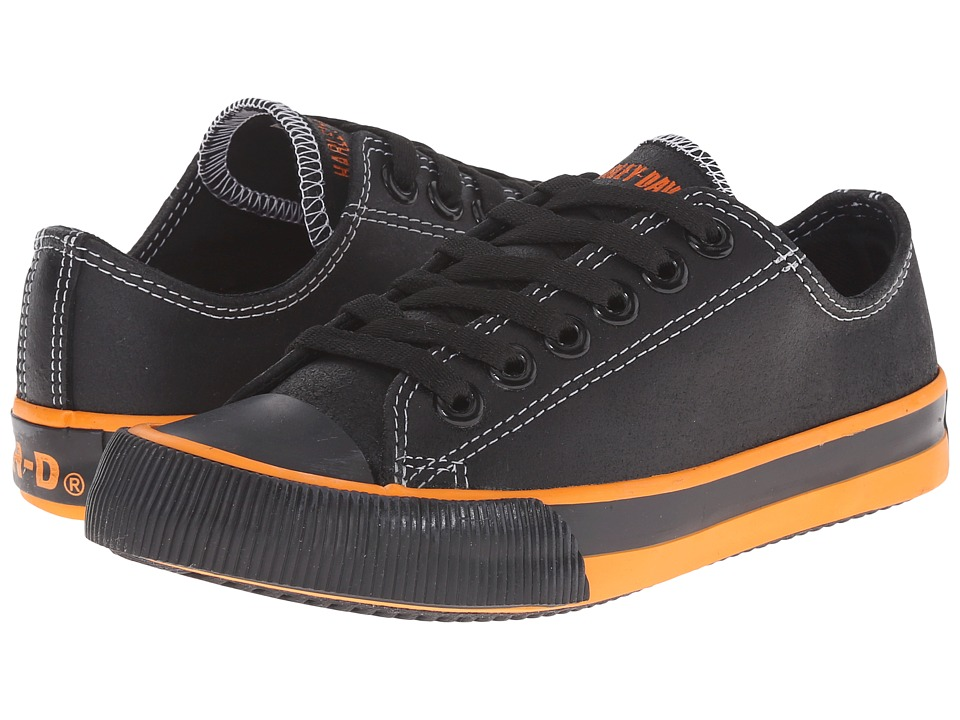 Harley-Davidson - Rascal (Little Kid/Big Kid) (Black) Lace up casual Shoes