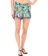 Trina Turk - Nomad Paisley Shorts Cover-Up