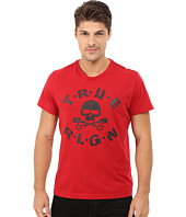 True Religion - Puff Skull Short Sleeve Tee