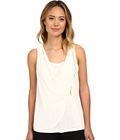 MICHAEL Michael Kors - Sleeveless Drape Tank Top w/ Zip