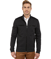 Calvin Klein - Full Zip Solid Textured Ponte Jacket