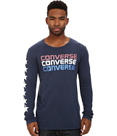 Converse - Long Sleeve Triple Reflective Tee