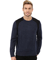 Calvin Klein - Cotton Poly Heather & Ponte Crew Neck Sweater