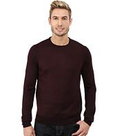Calvin Klein - Merino Acrylic Blocked Menswear Pattern Crew Sweater