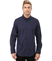 Calvin Klein - Liquid Cotton Skip Dobby Stripe Woven Shirt