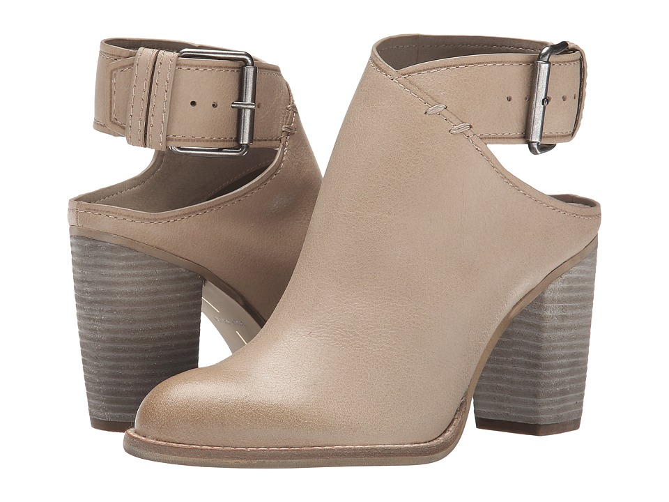 Dolce Vita Jacklyn Light Taupe Leather Womens Boots