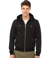 Members Only - Modern Hoodie Jacket in Stretch Neoprene