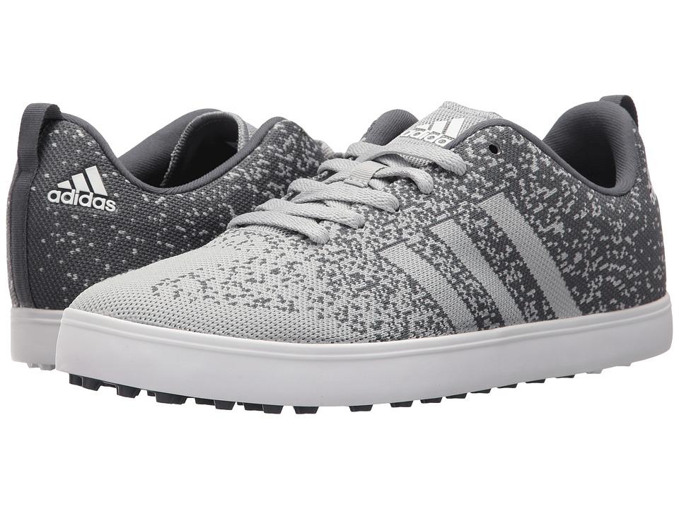adidas Golf - Adicross Primeknit (Clear Onix/Onix/Ftwr White) Mens Golf Shoes