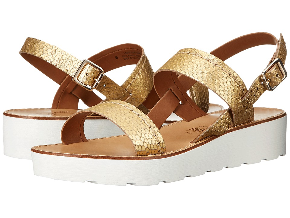 Seychelles Bolder Gold Womens Sandals