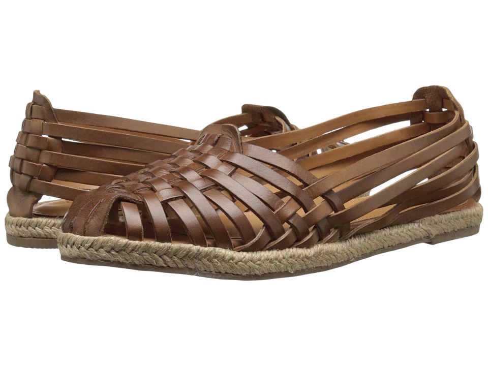 Seychelles - Nifty Tan Leather Womens Flat Shoes $90.00 AT vintagedancer.com