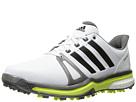 adidas Golf Adipower Boost 2 (Ftwr White/Dark Silver Metallic/Solar Yellow)