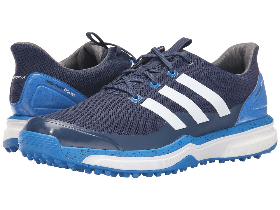 adidas Golf Adipower S Boost 2 (Mineral Blue/Ftwr White/Shock Blue) Men