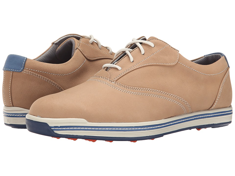 FootJoy Contour Casual All Over Tan Mens Golf Shoes